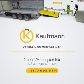 Kaufmann expõe esteiras transportadoras na Fispal Tecnologia